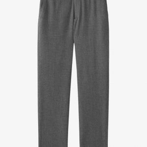 Spodnie męskie, szare, eleganckie